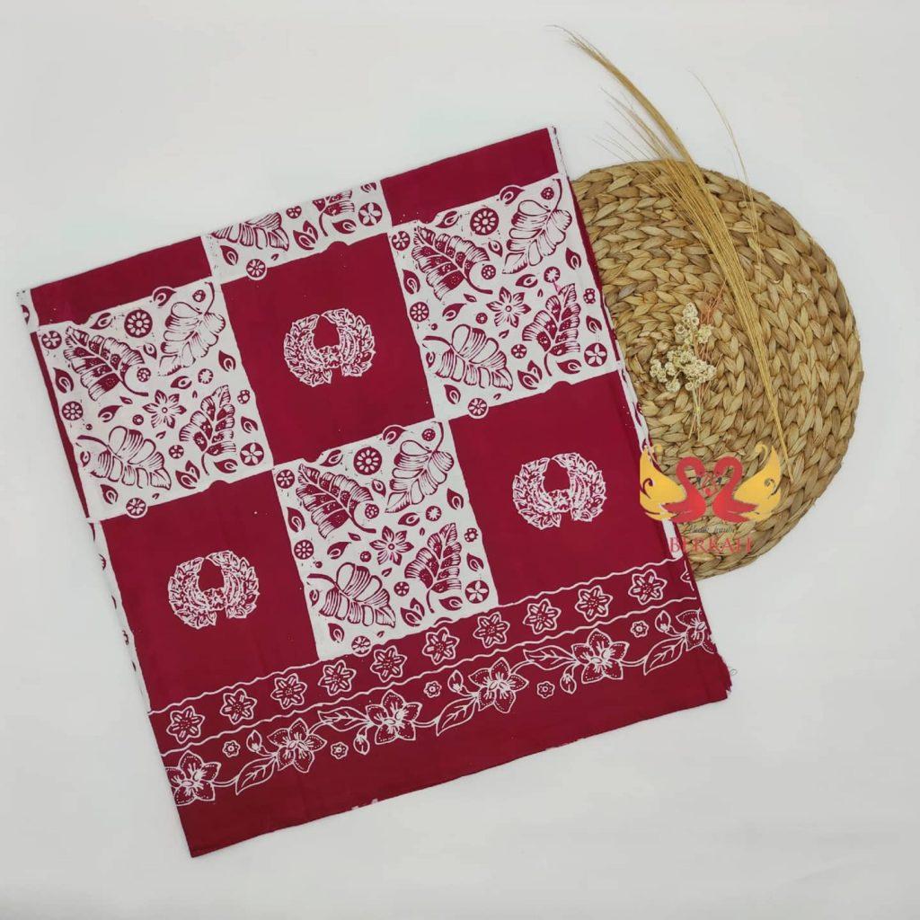 Batik Jambi Asli Cap Semi Tulis