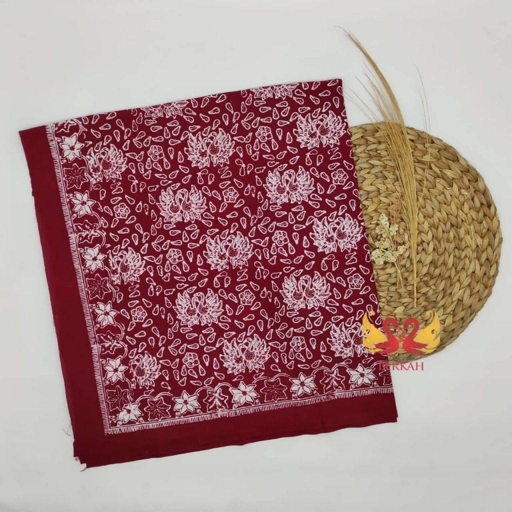Batik Jambi, Merah Putih. BJMP002