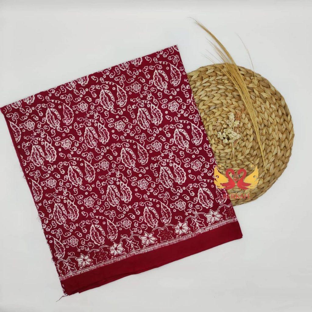 Batik Jambi, Merah Putih. BJMP004
