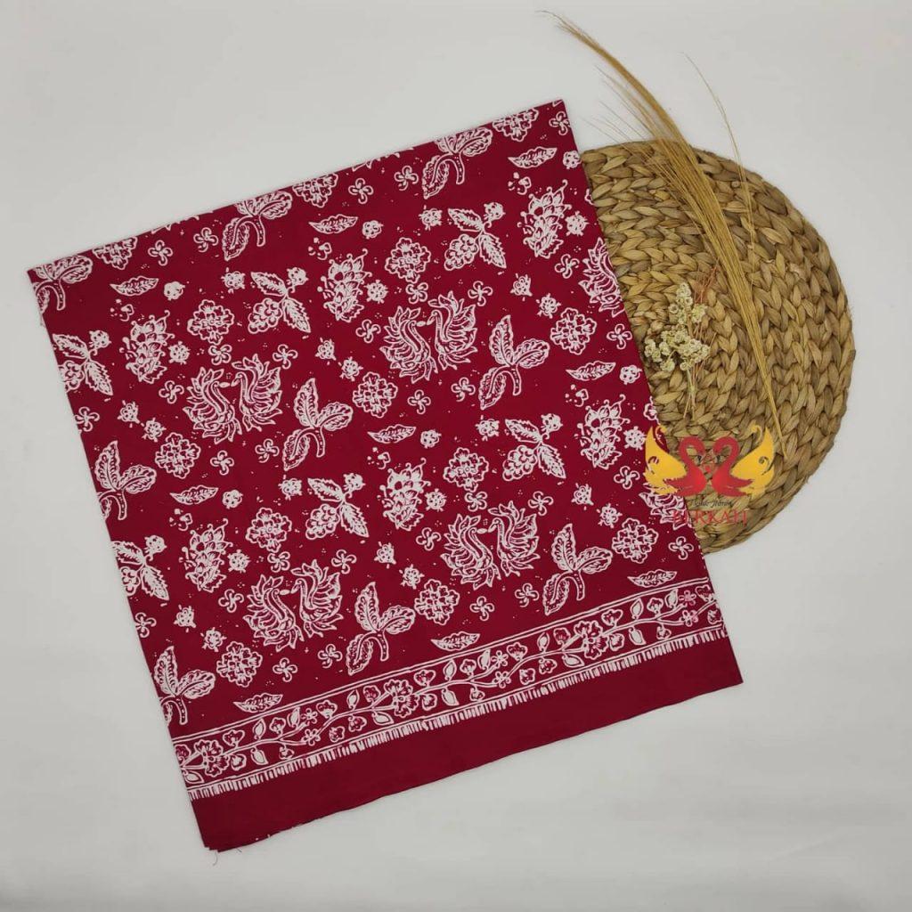 Batik Jambi, Merah Putih. BJMP005