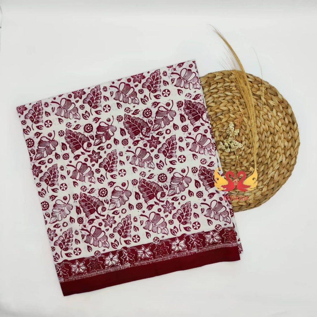 Batik Jambi, Merah Putih. BJMP006