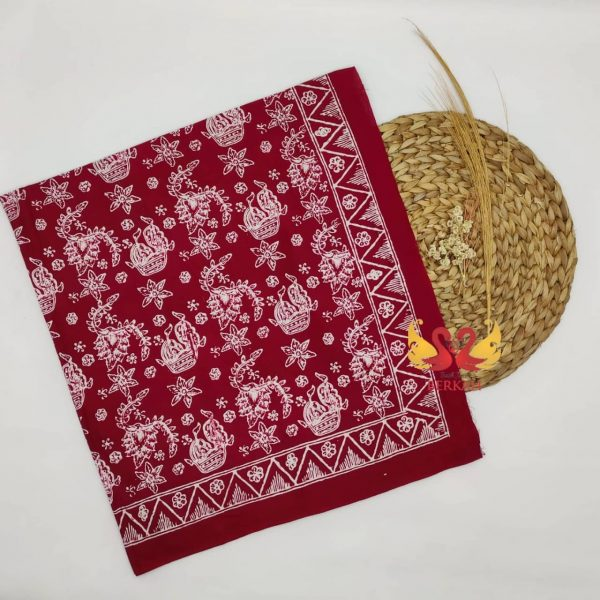 Batik Jambi, Merah Putih. BJMP007